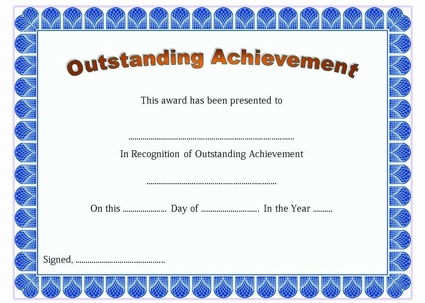 Google Docs Award Template Awesome 9 Scholarship Certificate Templates Free Word format