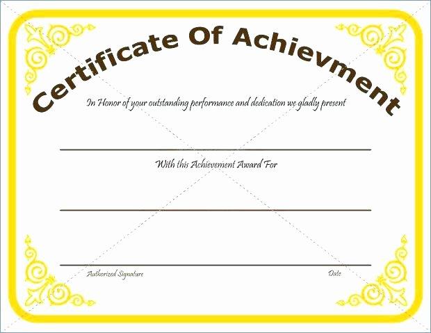 Google Docs Award Template Inspirational 9 Scholarship Certificate Templates Free Word format