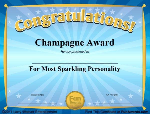 Google Docs Award Template Inspirational Free Printable Certificates Funny Awards Templates for