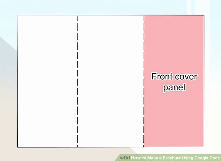 Google Docs Booklet Template Best Of How to Make A Brochure Using Google Docs Wikihow
