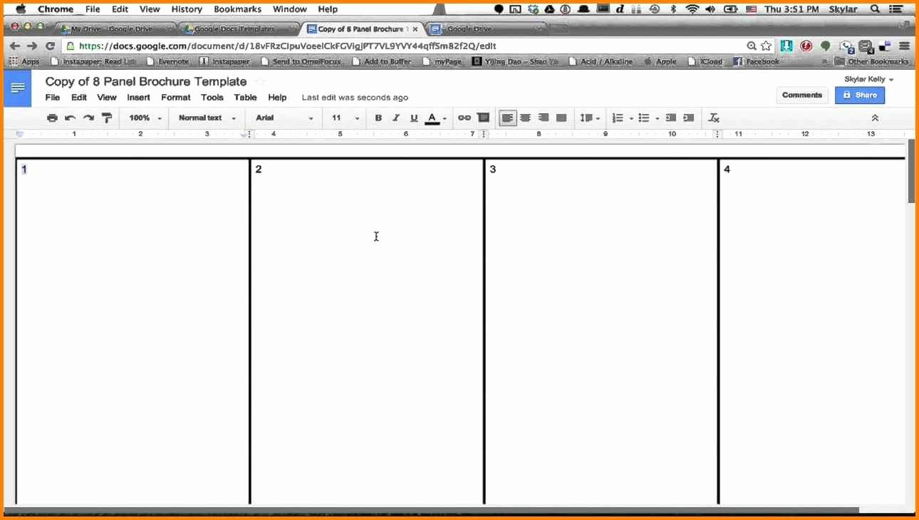 Google Docs Booklet Template Unique 14 Book Template Google Docs