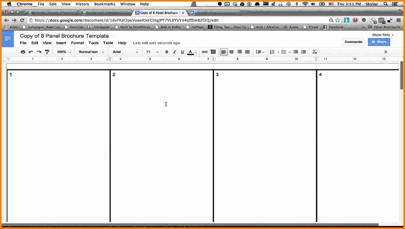 Google Docs Booklet Template Unique 14 Book Template Google Docs