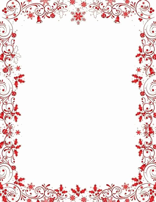 Google Docs Border Template Awesome Free A Snowman Paper Printable Border Templates Template