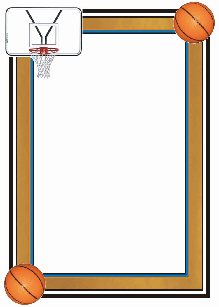 Google Docs Border Template Fresh Page Border Basketball Αναζήτηση Google