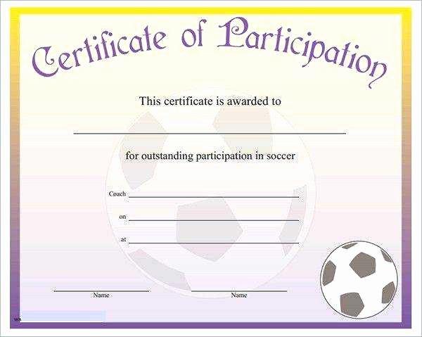 Google Docs Certificate Template Beautiful Perfect attendance Award Template Google Doc Certificate