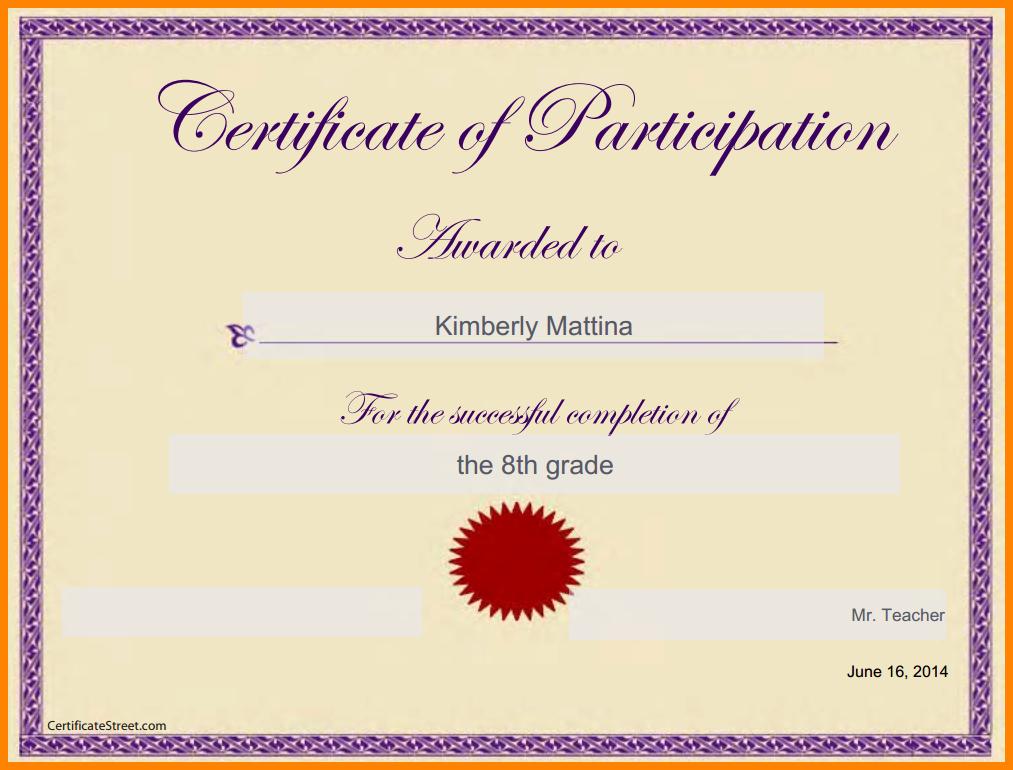 Google Docs Certificate Template Elegant Certificate Template Google Docs