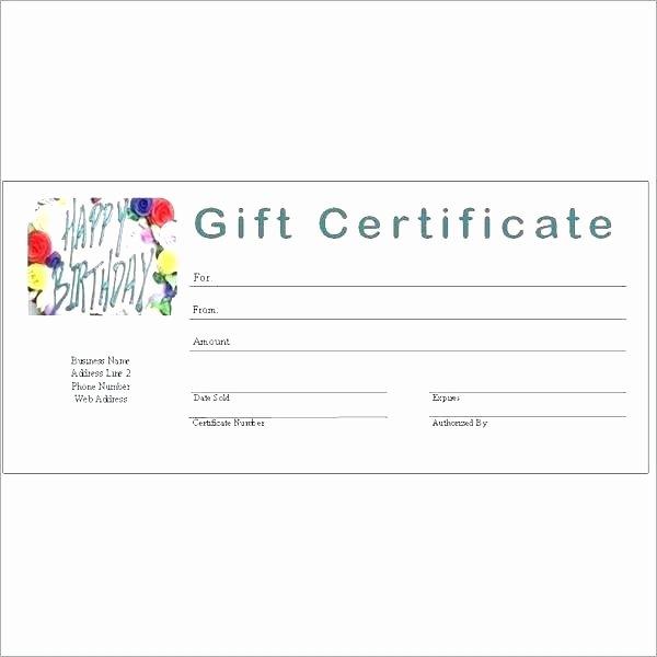 Google Docs Certificate Template Luxury Generic Gift Certificate Template Free Printable Gift