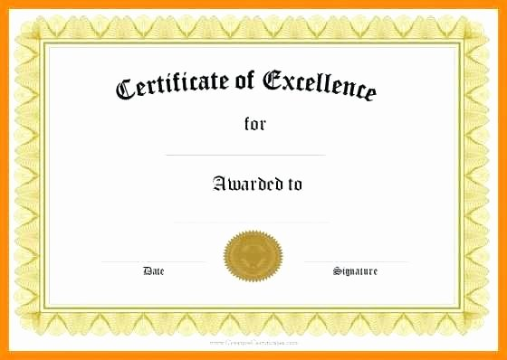 Google Docs Certificate Template Unique Certificate Templates Stunning Google Docs Award Template