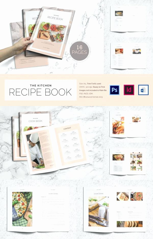 Google Docs Cookbook Template Lovely Recipe Book Template Google Docs