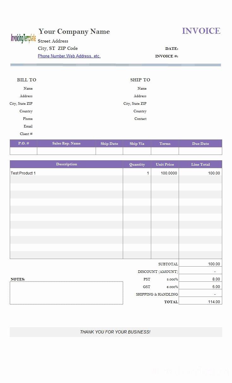 Google Docs Estimate Template Best Of Invoice Template Google Docs