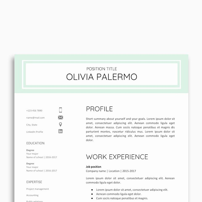 Google Docs Letter Template Fresh 21 Best Google Docs Resume Templates Google Drive Examples