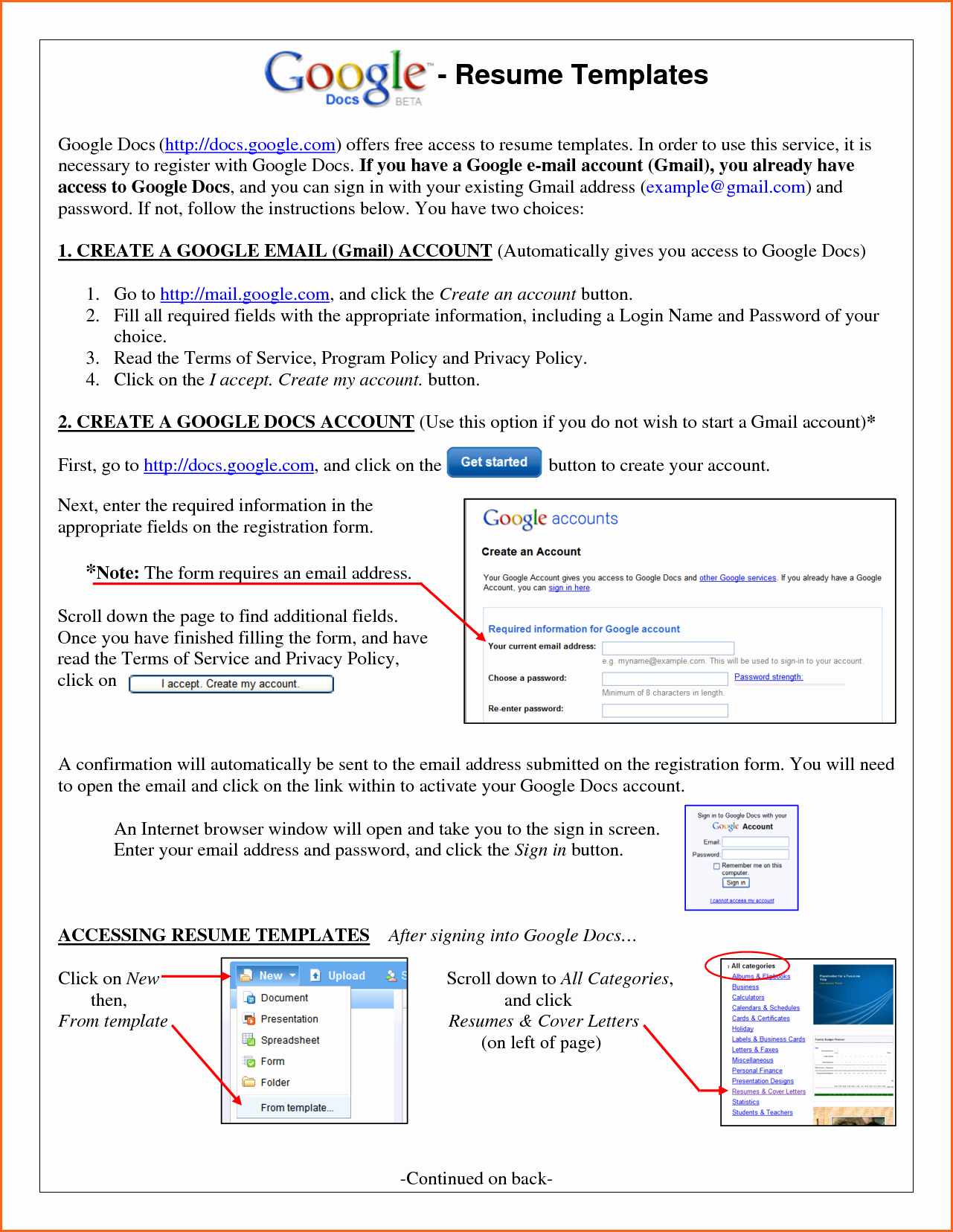 Google Docs Letter Template New 6 Resume Templates Google Docs Bud Template Letter