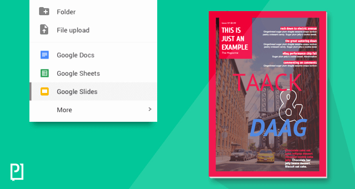 Google Docs Magazine Template New How to Design Magazine with Powerpoint to Go Mobile On App