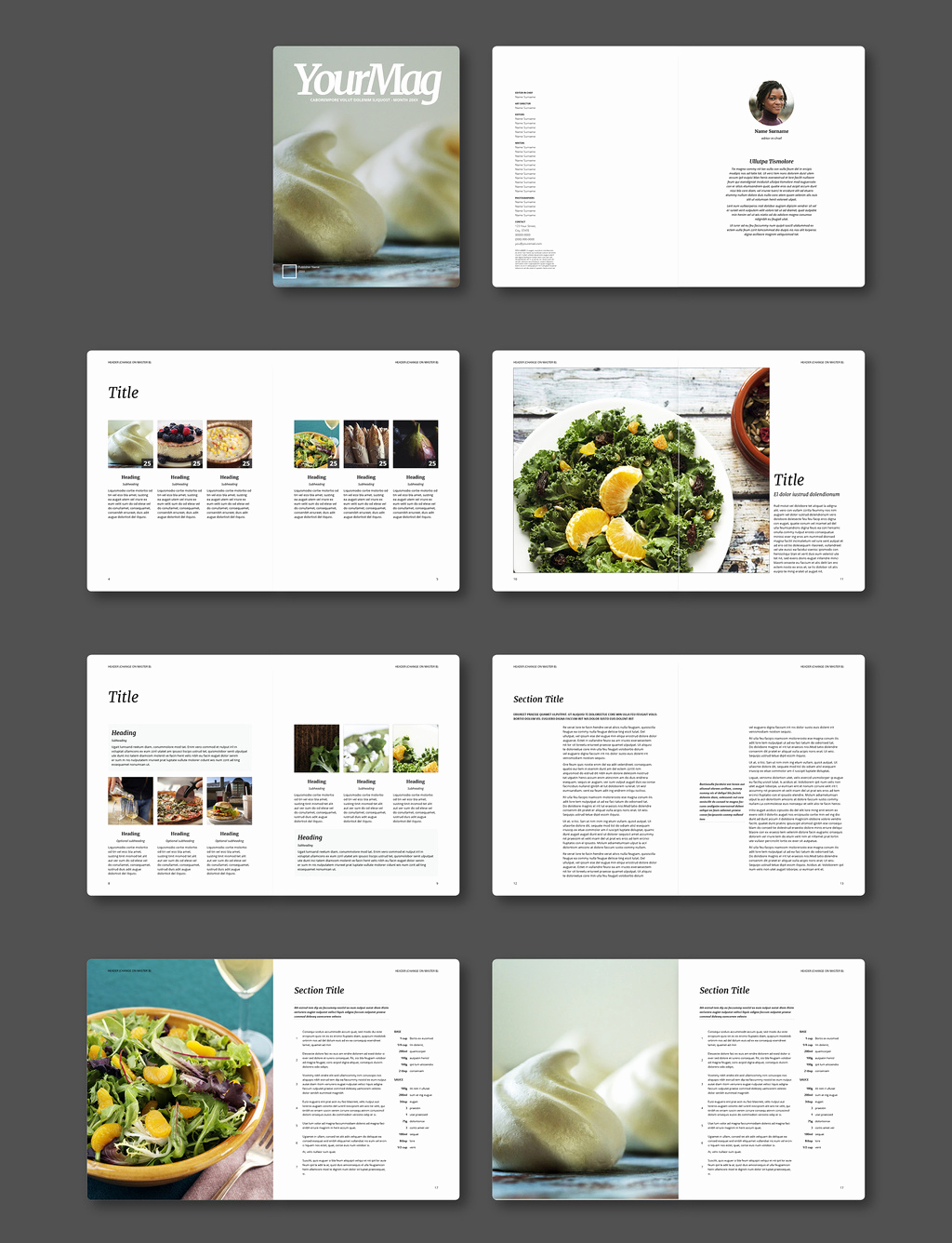 Google Docs Magazine Template New Template Magazine Template