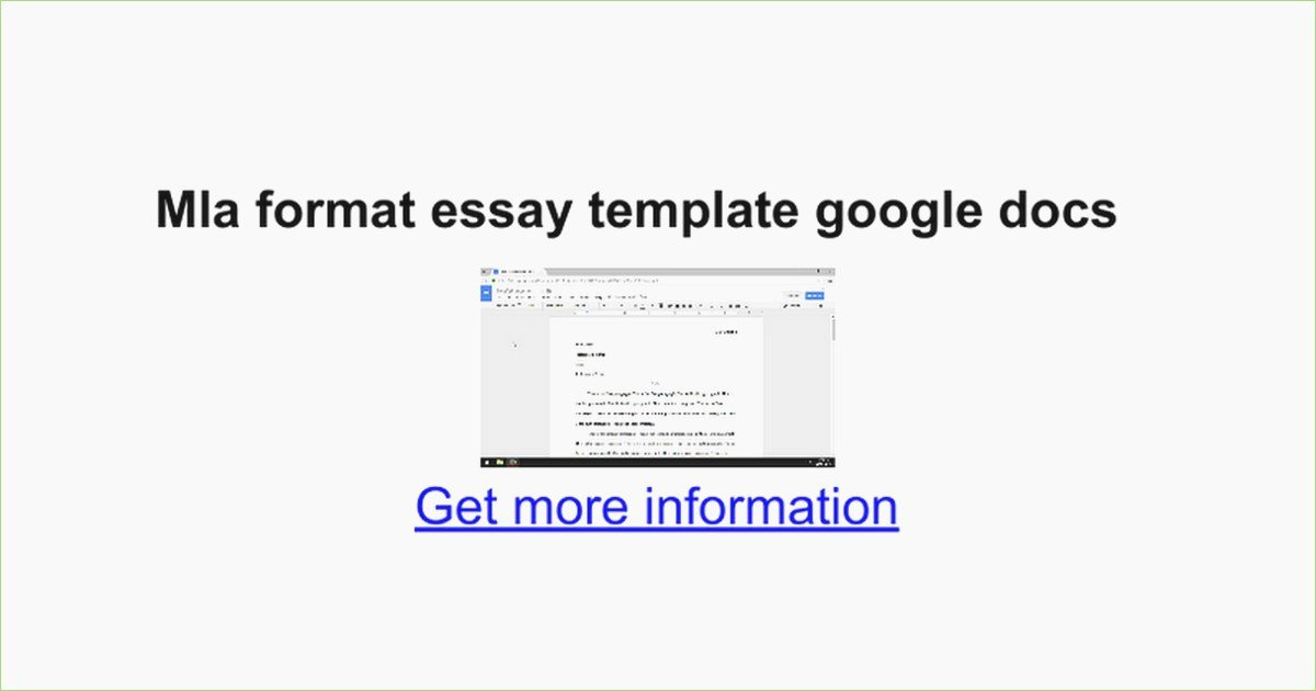 Google Docs Mla Template Lovely Mla format Letter Size – thepizzashop