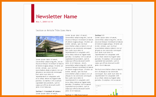 Google Docs Newsletter Template Awesome Google Doc Template Newsletter