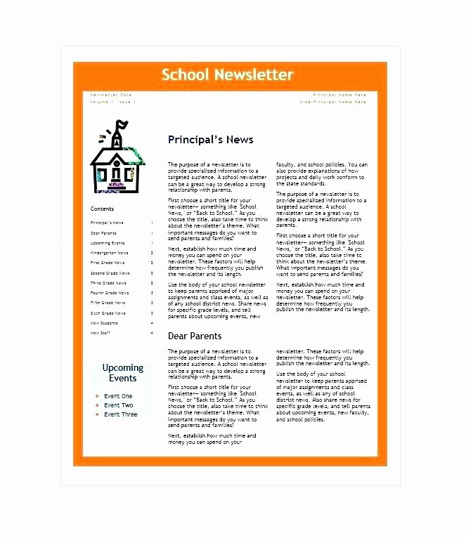 Google Docs Newsletter Template Beautiful Google Docs Newsletter Template Fresh Wonderful Templates