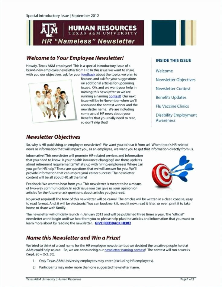 Google Docs Newsletter Template Lovely Free Newsletter Templates for Teachers Printable Preschool