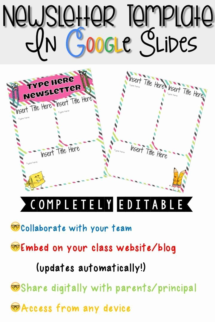 Google Docs Newsletter Template Unique 1000 Ideas About Preschool Newsletter Templates On