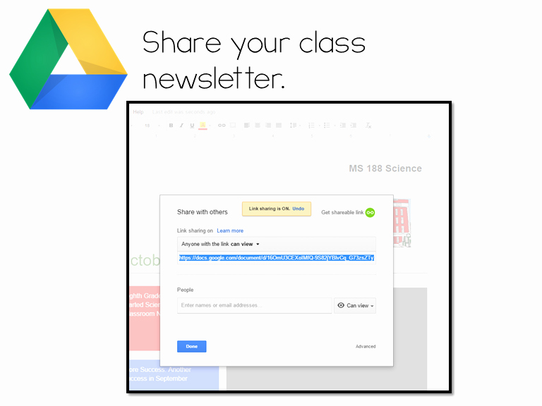 Google Docs Newsletter Template Unique Corkboard Connections 5 Ways to Engage Parents Using