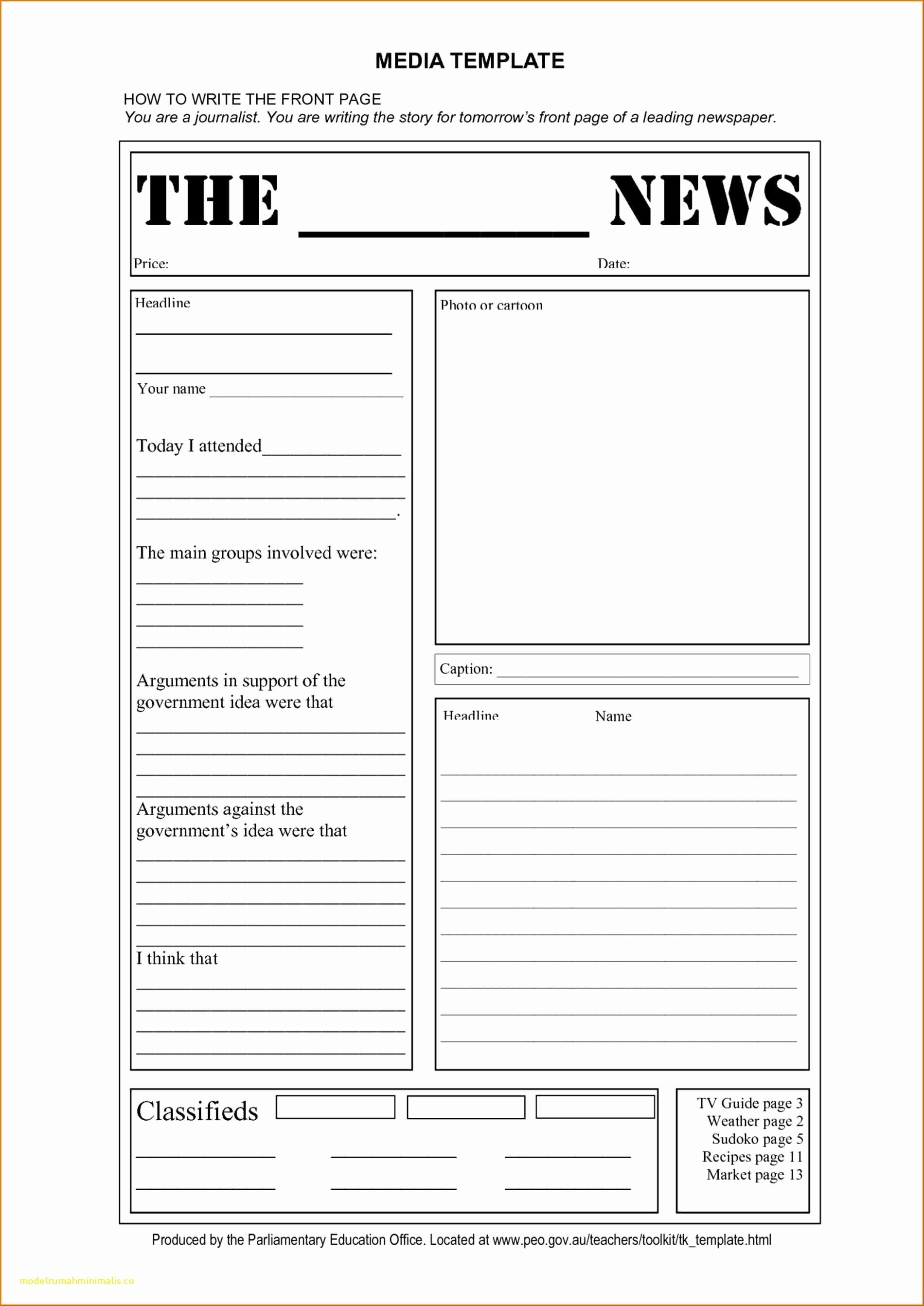Google Docs Newspaper Template Fresh Blank Newspaper Template Google Docs 2018 Cialisvbsfo