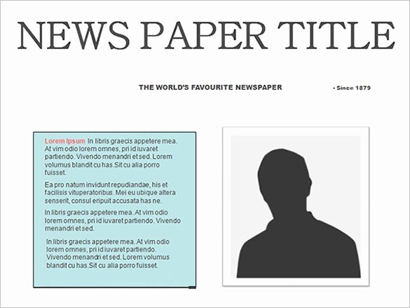 Google Docs Newspaper Template Unique Free Newspaper Template 10 Blank Google Docs Word
