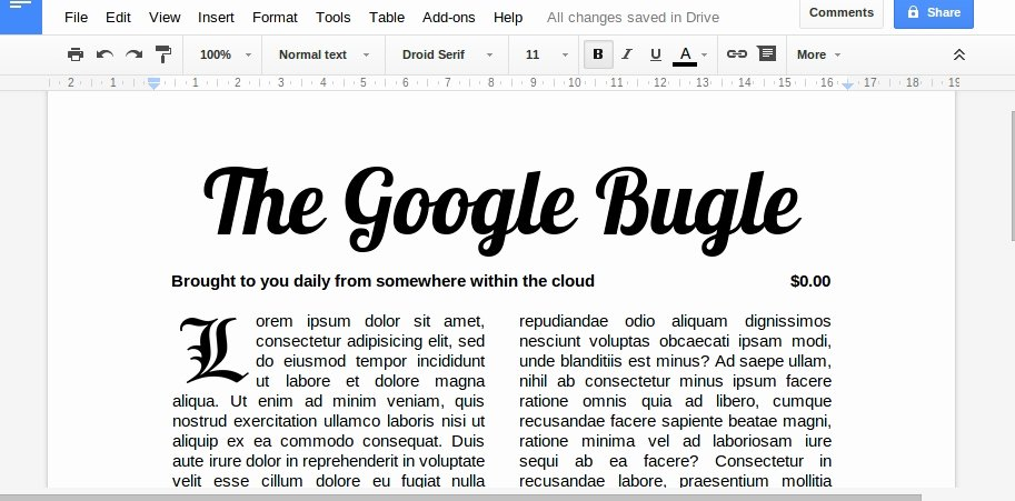 Google Docs Newspaper Template Unique How to Make A Newspaper In Google Docs