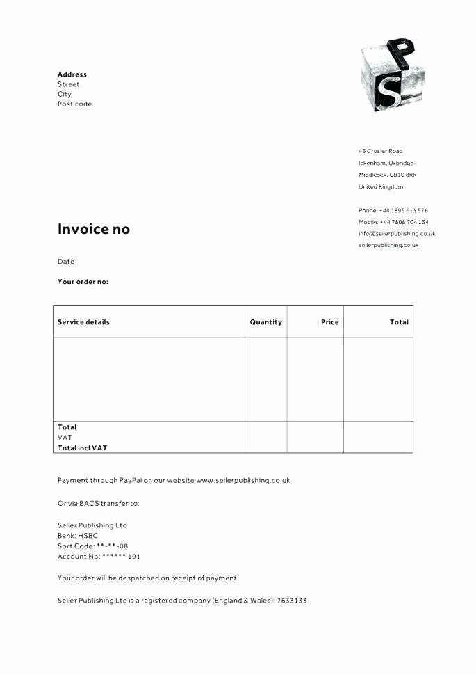 Google Docs Receipt Template Luxury Google Documents Invoice Template – Edunova