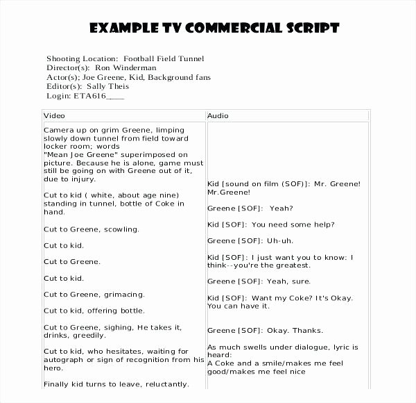Google Docs Screenplay Template Fresh Script Writing Template Movie Professional Templates