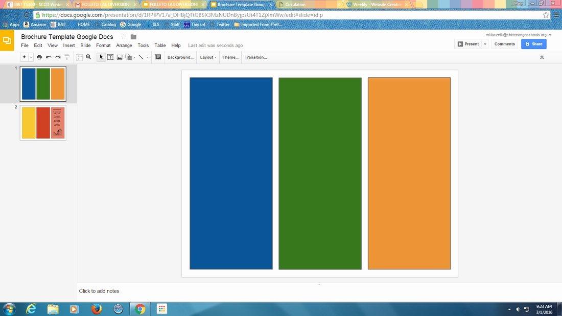 Google Docs Template Brochure Best Of Google Slides Brochure Template 2018