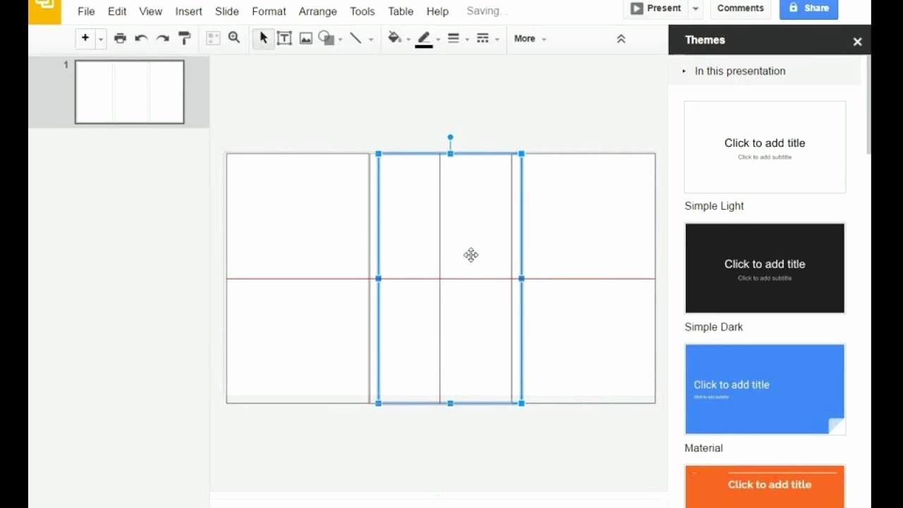 Google Docs Template Brochure Lovely Tri Fold Brochure Template for Google Slides