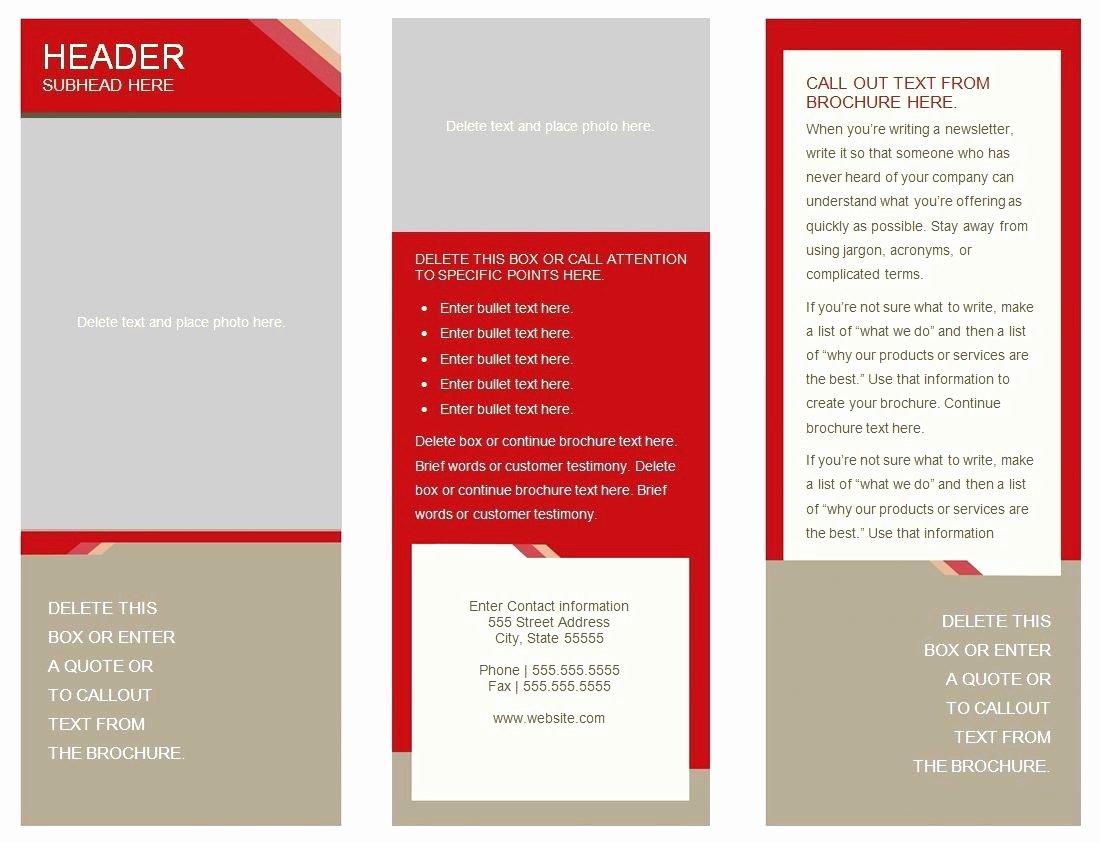 Google Drive Brochure Template Unique 50 Unique Double Sided Brochure Template Google Docs