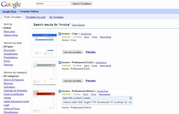 Google Drive Invoice Template Inspirational Plantillas De Facturas Profesionales Para Google Docs