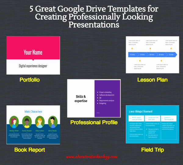 Google Lesson Plan Template Lovely 5 Great Google Drive Templates for Creating Professionally
