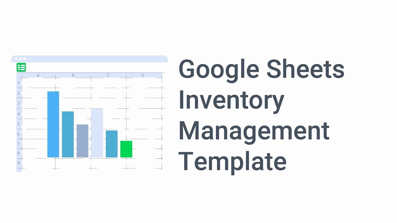 Google Sheets Inventory Template Inspirational Google Sheets Inventory Management Template