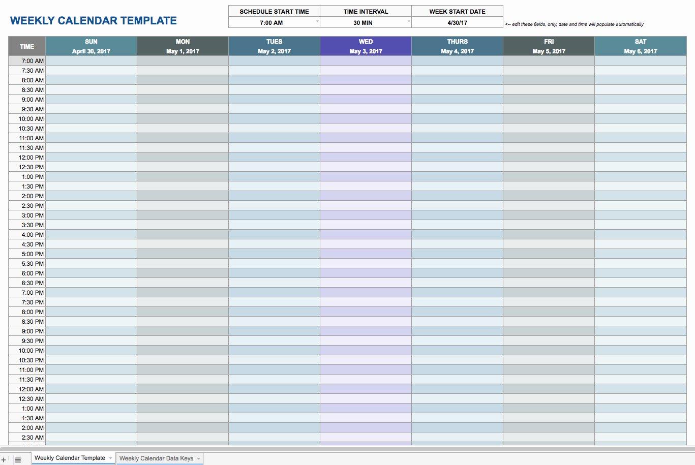 Google Sheets Receipt Template New Weekly Schedule Template Google Docs
