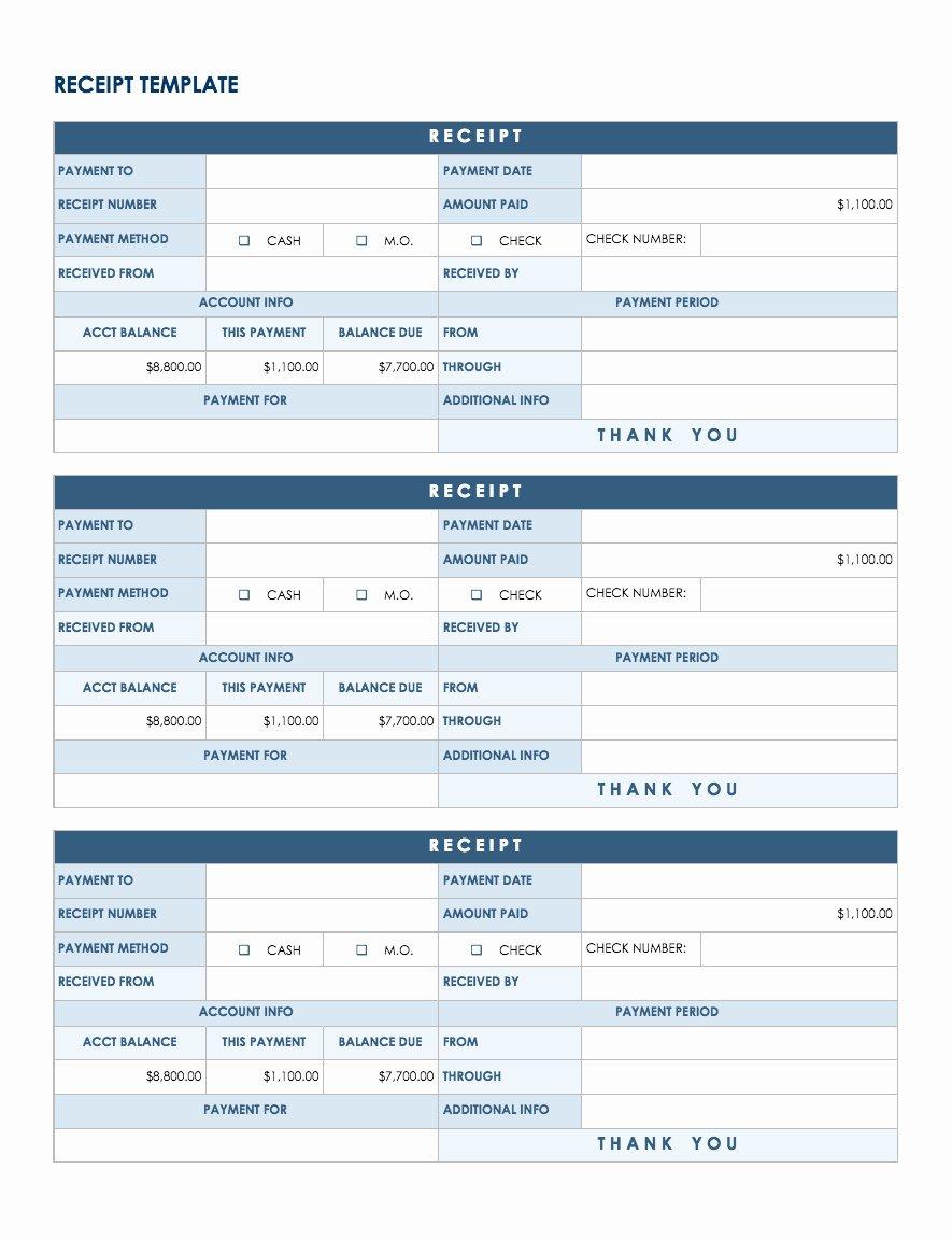 Google Sheets Receipt Template Unique Free Google Docs and Spreadsheet Templates Smartsheet