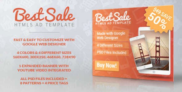 Google Web Designer Template Best Of [2018] 10 High Ctr Google Web Designer Template Banner Ads