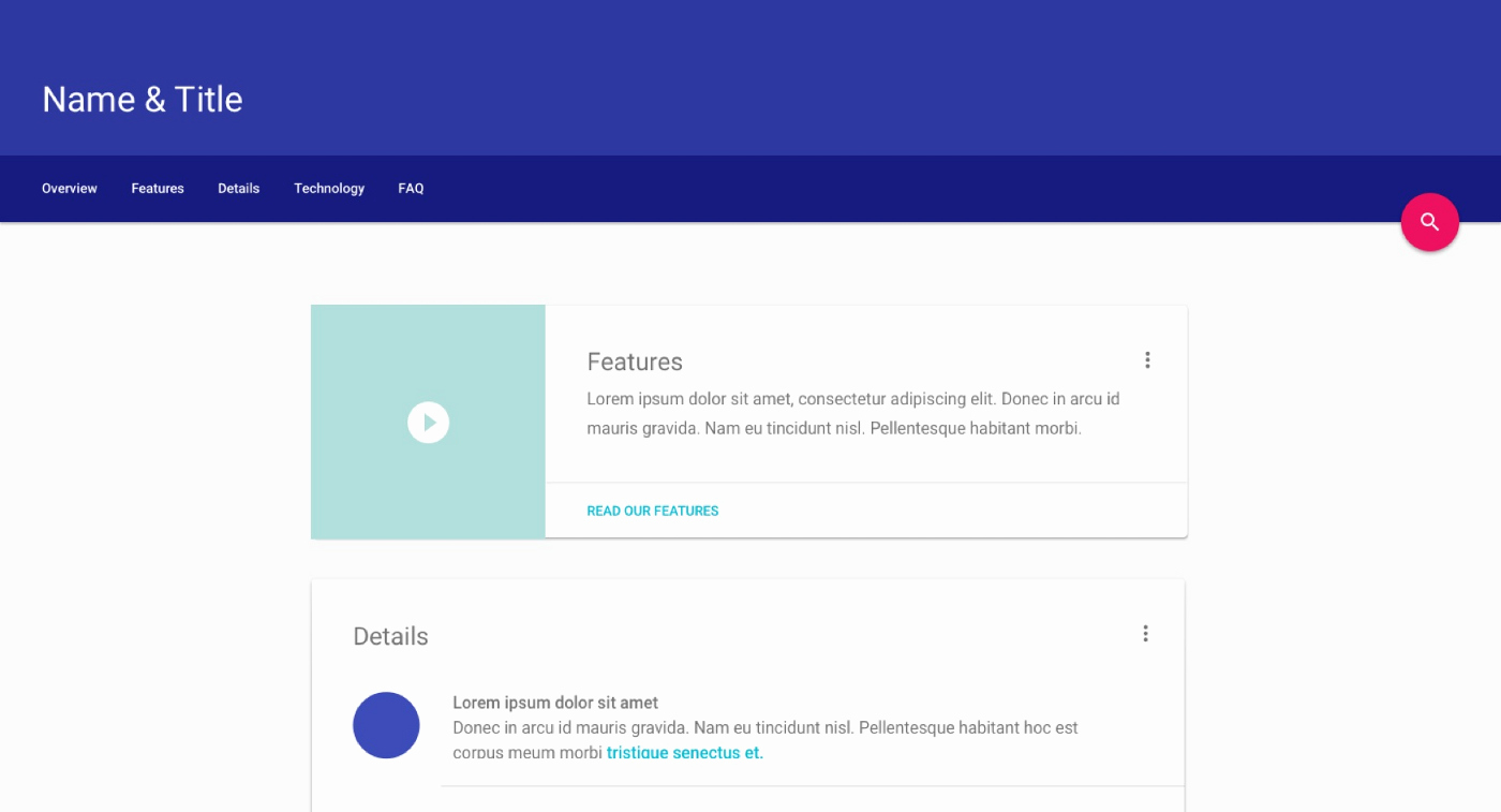 Google Web Designer Template Lovely Google Unveils Material Design Lite to Help Websites Look