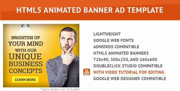 Google Web Designer Template Luxury [2018] 10 High Ctr Google Web Designer Template Banner Ads