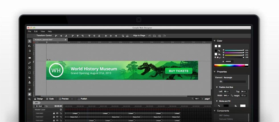 Google Web Designer Template Luxury Google Web Designer Kostenloses Grafikprogramm Erstellt