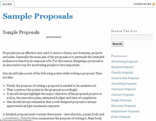 Government Contract Proposal Template New Business Proposal Examples Free