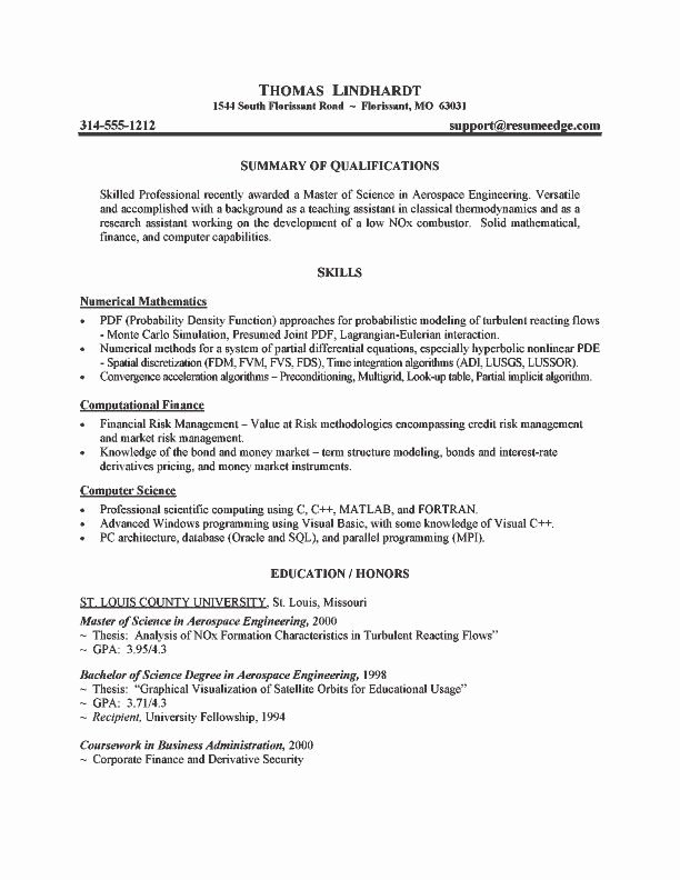 Grad School Resume Template Fresh Resume Sample for Graduate School Best Resume Collection