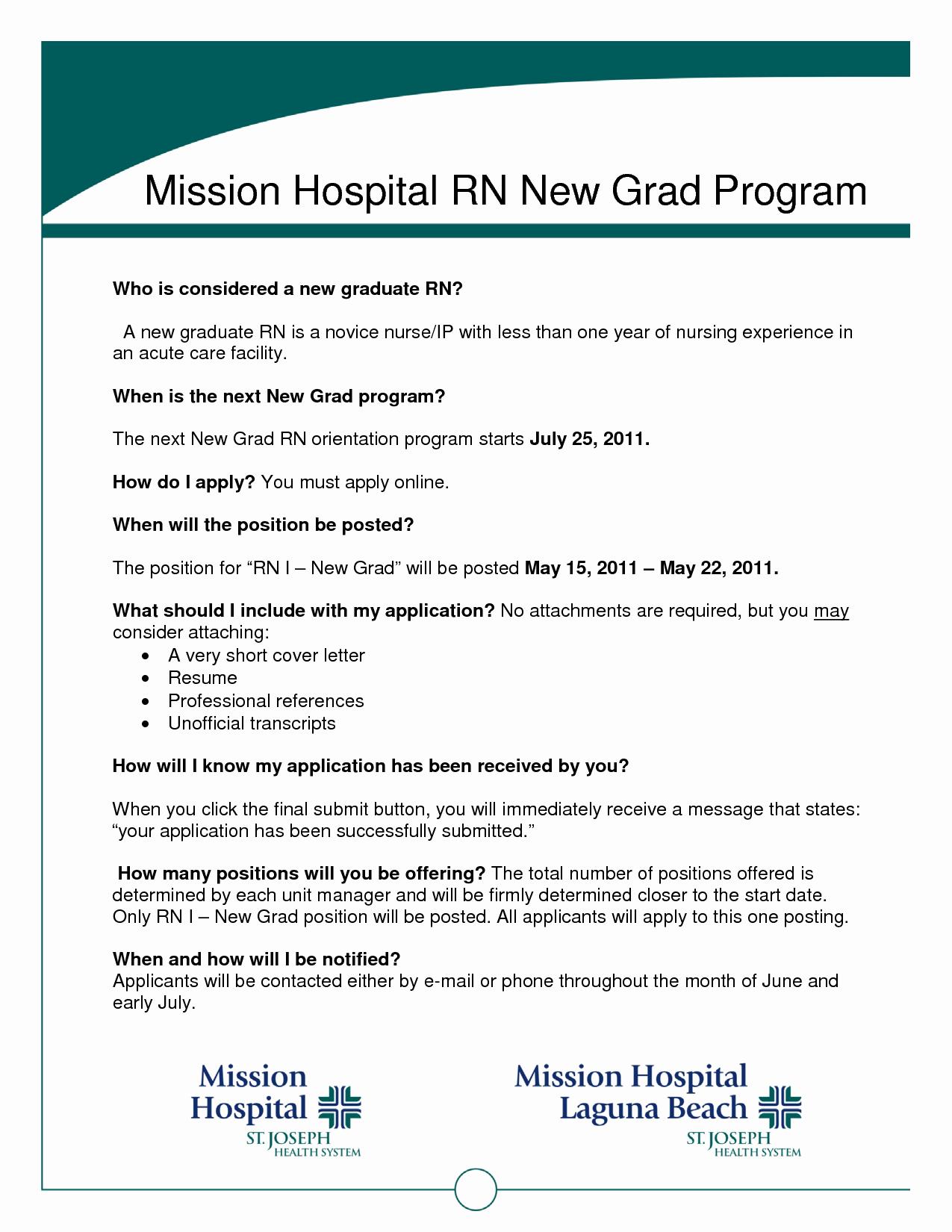 Graduate Nurse Resume Template Best Of Graduate Nurse Resume Template Resume Ideas