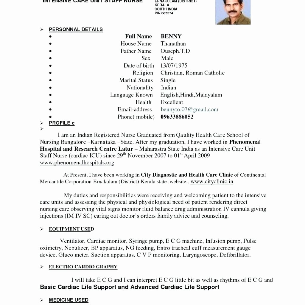 Graduate Nurse Resume Template Luxury New Grad Rn Resume Examples for Students Tag