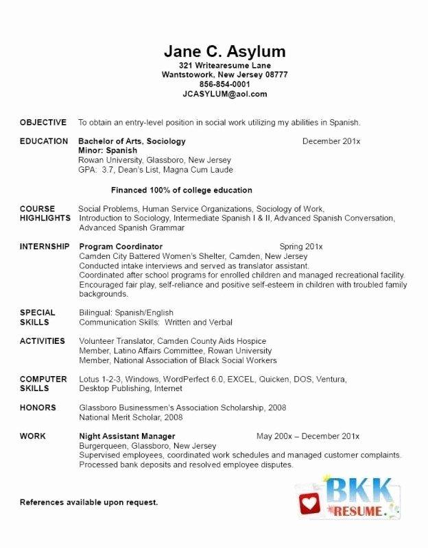 Graduate School Cv Template Elegant Graduate School Application Resume Sample Best Resume