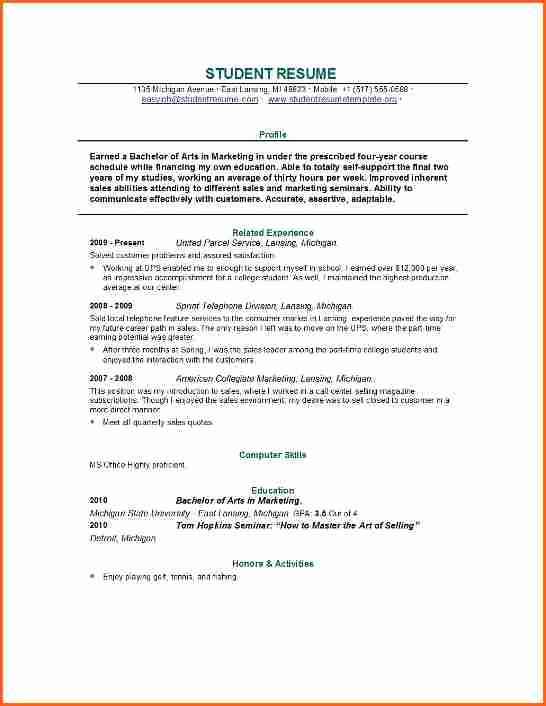 Graduate School Resume Template Beautiful 4 Grad School Resume Template Bud Template Letter