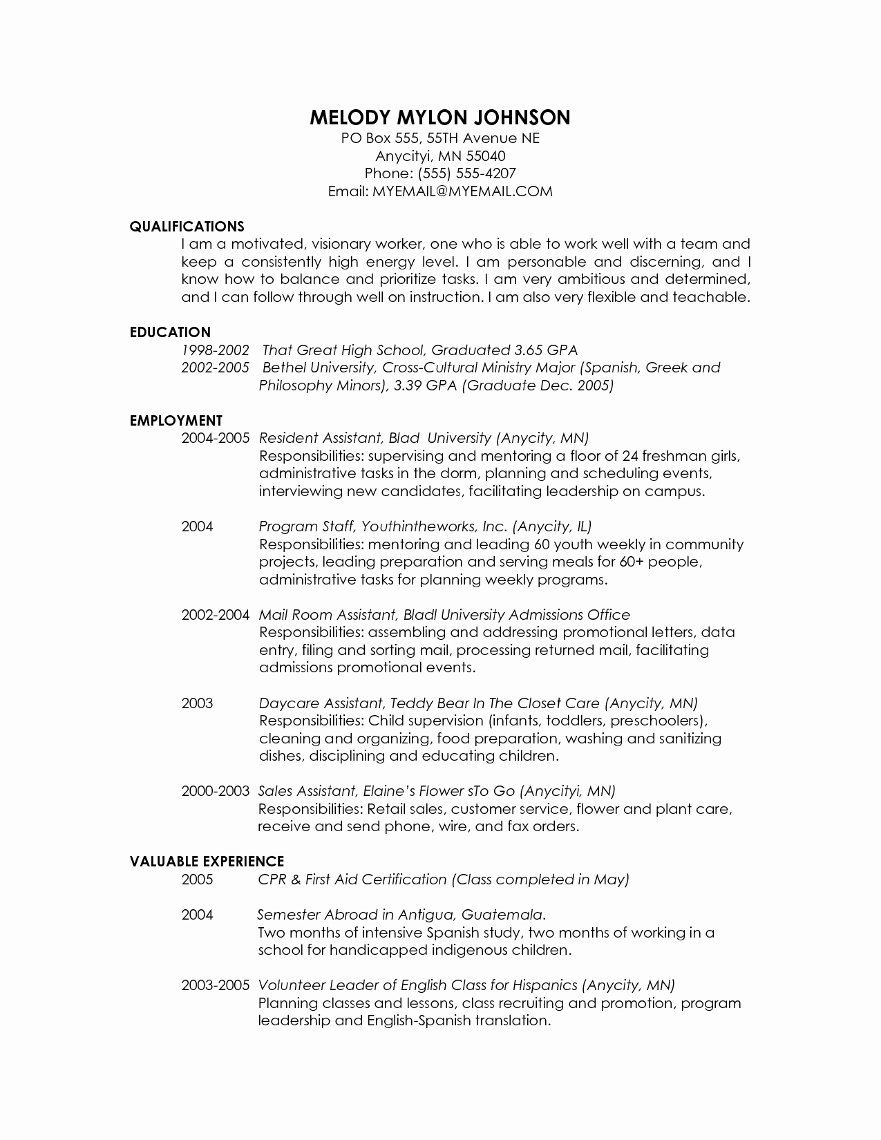 Graduate School Resume Template Lovely Graduate School Admissions Resume Resume Ideas