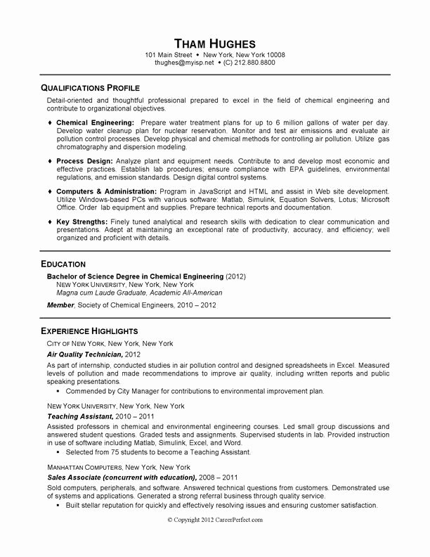 academic resume template for graduate school