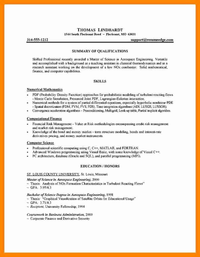 Graduate School Resume Template New Graduate School Resume Templates Best Resume Collection
